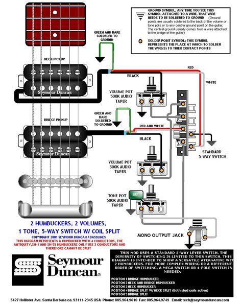 humbucker wiring humbucker wiring talkbass