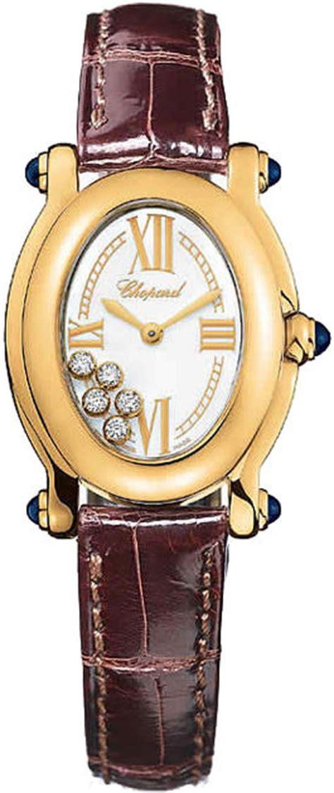 Chopard Ch7020 Oval Leather chopard 277465 0005 happy sport oval 5 floating diamonds