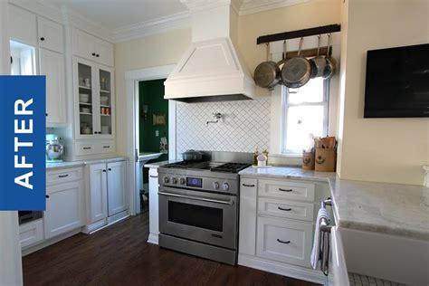 craftsman style kitchen renovation