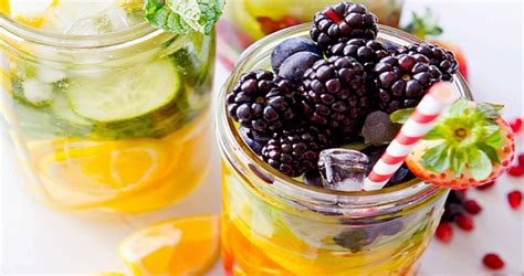 Blackberry Detox Water by Blackberry And Orange Detox Water Recipe Healthy Drinks Org