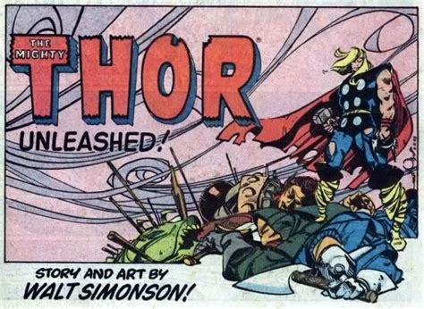variant walt simonson covers the mighty thor 1 major spoilers comic book reviews news house of mystery walt simonson disegna una variant cover di the mighty thor no 232 solo una