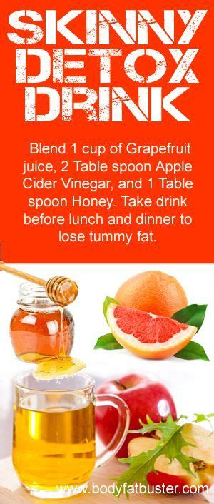 How To Make A Detox Drink With Apple Cider Vinegar by 1000 Ideas About Vinegar Weight Loss On Apple