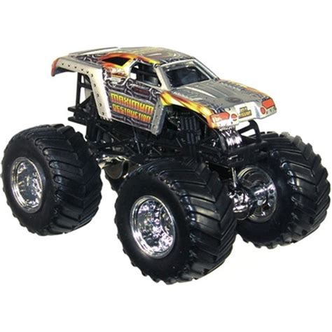 maximum destruction monster truck videos wheels maximum destruction die cast truck
