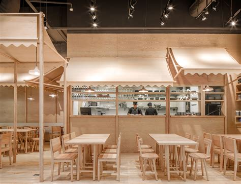 food court shop design wood chipping onion designs all wood eatery at emquartier