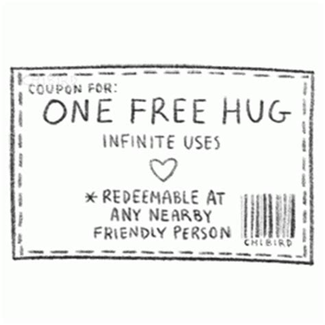 printable free hug coupons image gallery hug coupon