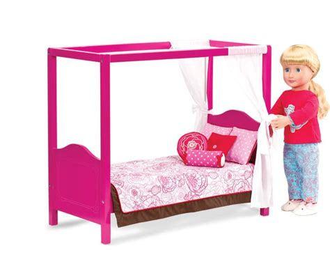 our generation doll bed my sweet canopy bed our generation dolls og