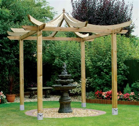 be inspired by the japanese pergola kit from grange and
