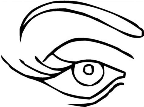 coloring page eyeball women eye preschool coloring pages for kids free printable