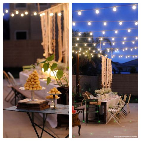 outside party ideas triyae com ideas for backyard graduation party various