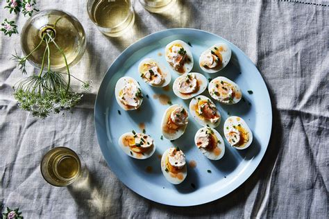 Deviled Eggs Shelf by 3 Ingredient Boiled Egg Appetizer With Mayo And Sauce