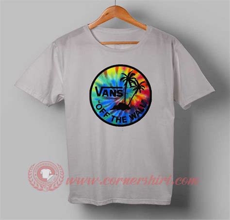 Design A Vans Shirt | vans off the wall custom design t shirts custom t shirt