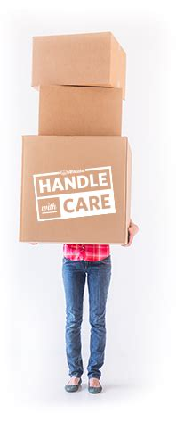 Allstate Moving Center   Handle With Care