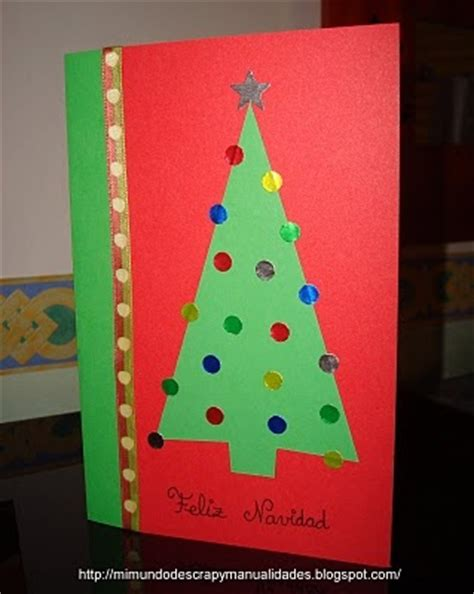 tutorial scrapbooking navidad mi mundo de scrap y manualidades postal de navidad 3