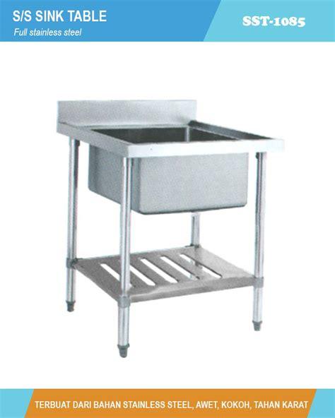 S S Sink Table Meja Cuci Piring St 1255 s s sink table sst 1085 meja cuci piring dan tangan stainless jaya