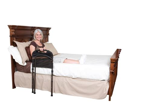 handicap bed rails stander mobility bed rail independently yours