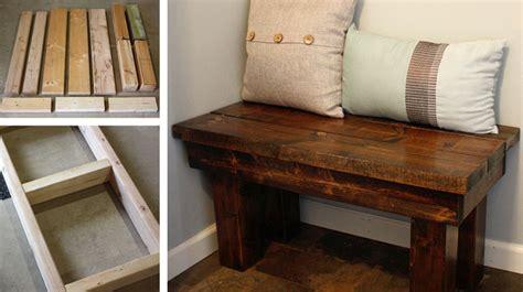 how to build a rustic bench diy rustic bench b superb