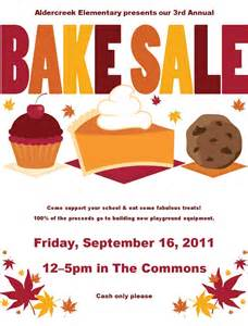 Free Bake Sale Flyer Templates by Cancel Save