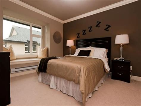 bedroom and living room in one space dark brown bedroom dark brown accent wall bedrooms dark