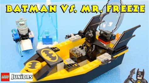 lego boat movie lego junior batman vs mr freeze with bat boat the