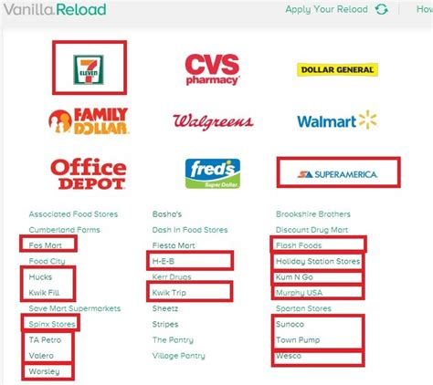 Gift Card Reload - vanilla reload cards at gas stations and conveniencestores points miles martinis