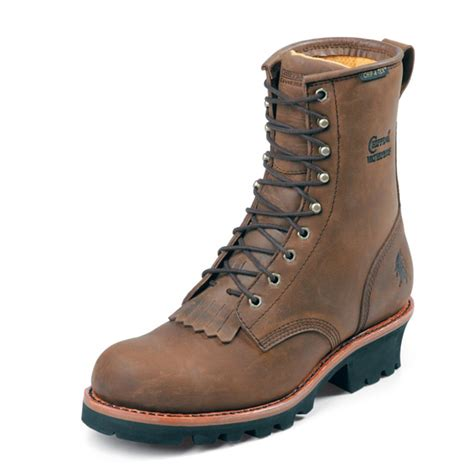 s 8 quot chippewa 174 steel toe electrical hazard boots