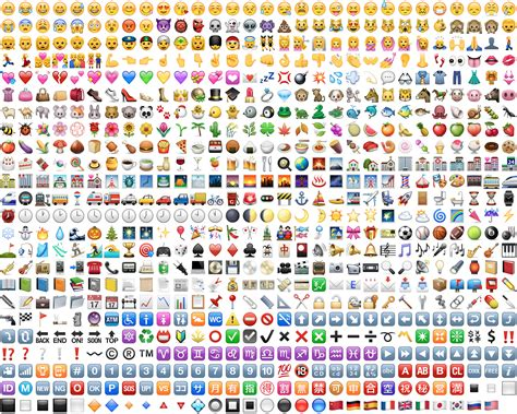 emoji list v 253 sledek obr 225 zku pro apple emoji blogging pinterest