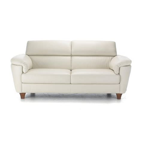 Natuzzi Editions Urbano Iii Leather Sofa Sears Canada