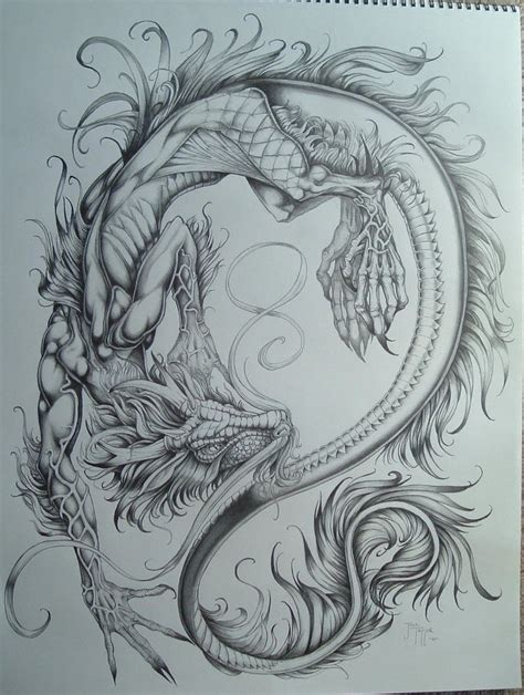 pen dragon tattoo best 25 dragons tattoo ideas on pinterest design dragon