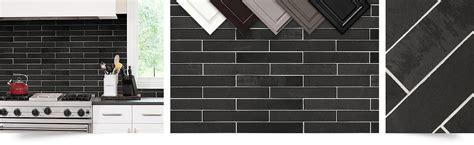 black slate backsplash black gray subway slate backsplash tile