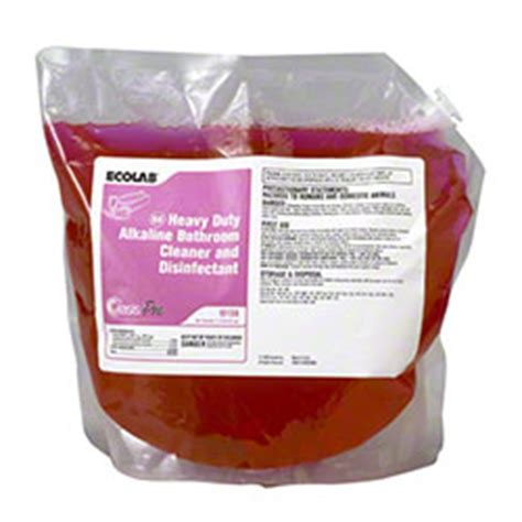 ecolab bathroom cleaner ecolab 174 oasis pro 66 hd alkaline bathroom cleaner 2 l