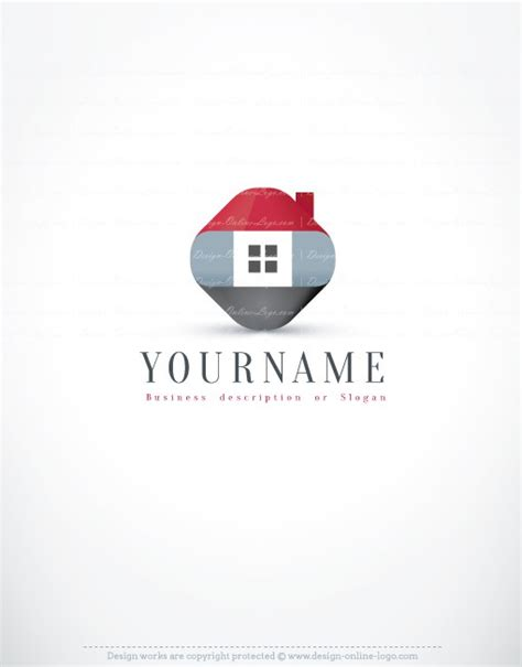 ready house real estate exclusive design innovative real estate logo compatible free business card