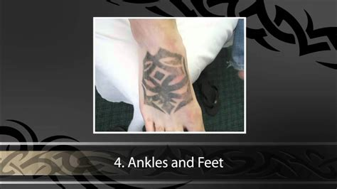 5 most painful places to get a tattoo youtube