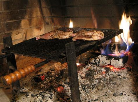 fireplace wood grilled hens priscilla martel
