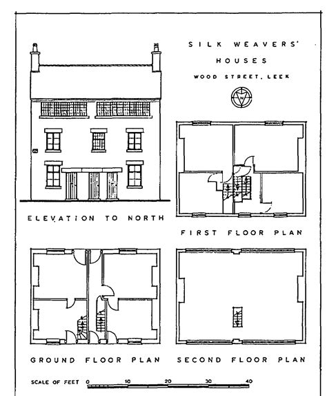 19th Century Floor Plans by Leek Leek And Lowe British History Online