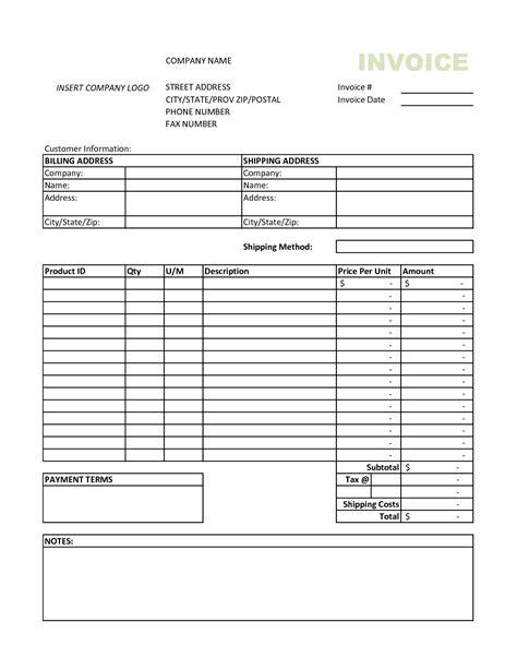 rent invoice template excel hitecauto us