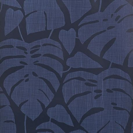 navy blue wallpaper uk guatemala cobalt navy blue broad leaf flower wallpaper