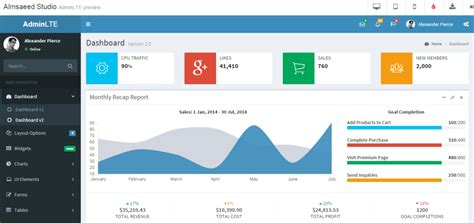 bootstrap templates for examination 27 free dashboard templates creative tim s blog