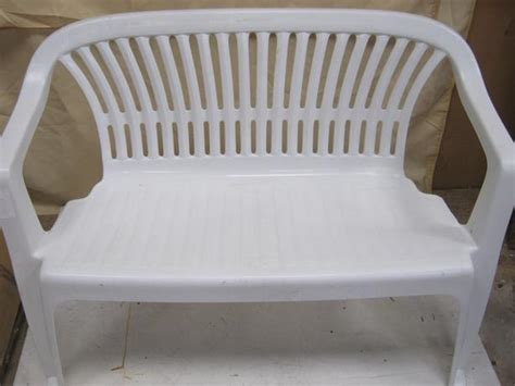 white plastic outdoor benches white plastic outdoor benches picture pixelmari com
