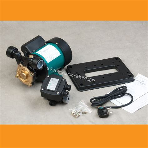 Wasser Pompa Air Pw251ea jual wasser pb 218 ea pompa air booster pompa dorong murmer
