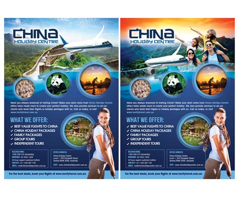 design flyers online australia elegant playful flyer design for lacity travel australia