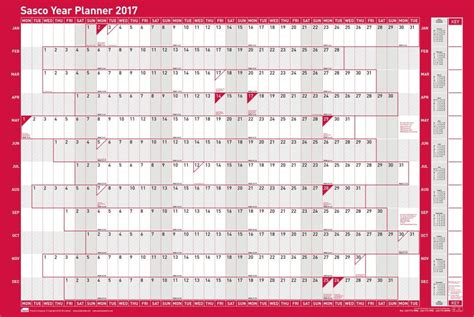 printable 2016 wall planner uk sasco wall planners 2018 are you planning ahead