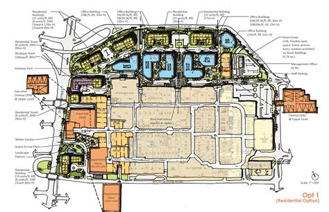 Yorkdale Mall Floor Plan by Yorkdale Shopping Centre Block Master Plan City Of Toronto