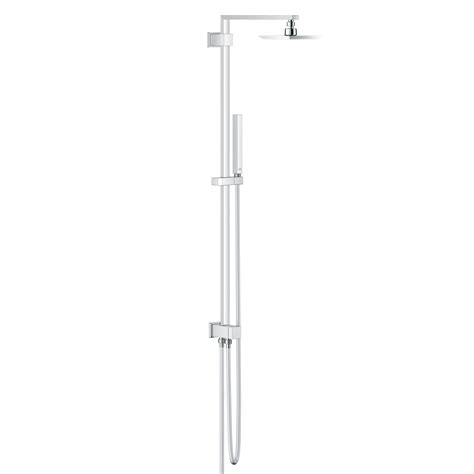Grohe Shower Diverter by Grohe Euphoria Cube Shower System With Diverter Wall