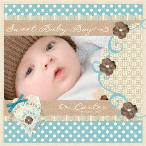 layout scrapbooking baby 8 scrapbook layouts for your baby newborn scrap booking