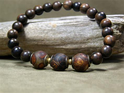 wooden for bracelets mens beaded bracelet wood bracelet mens jewelry mens