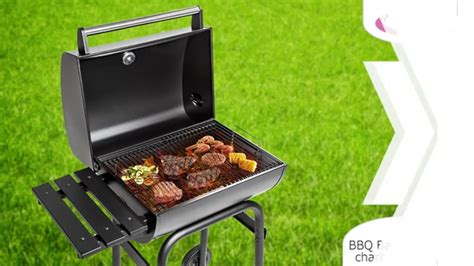 cuisine tectake bbq barbecue au charbon de bois barbecue