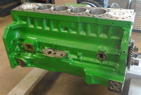 engine john deere jd  engine short block rebuilt bcn  jdokc mx kit
