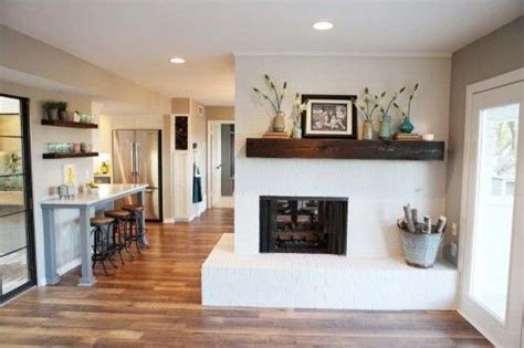 fixer paint colors fireplaces and cabinets