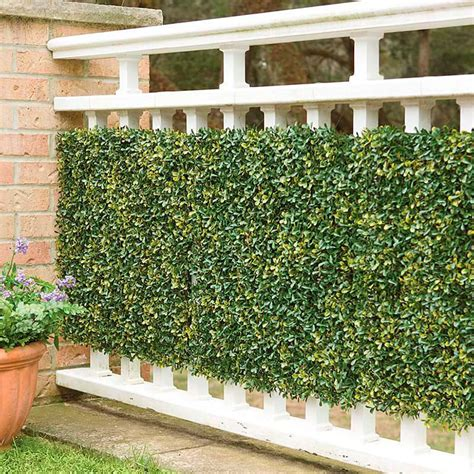 Garage Storage Design Software faux greenery outdoor privacy panels the green head