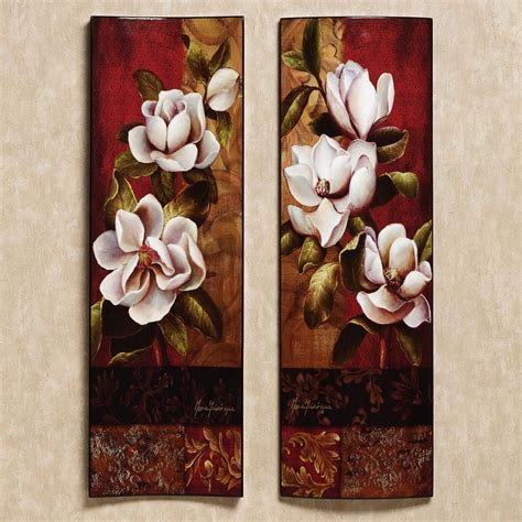 Magnolia Wall Decor by Magnolia Elegante Wall Touch Of Class